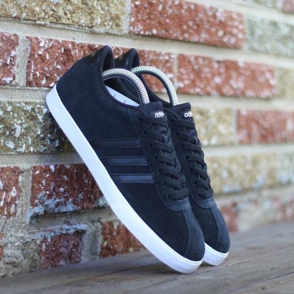 bfcf3e2105 Adidas Women's US 9 Courtset Suede Sneakers BB9657 Boutique